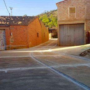 El Ayuntamiento de Herrera de los Navarros realiza obras de mejora en tres calles del municipio