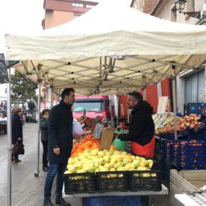 El Ayuntamiento abrirá progresivamente el mercado ambulante para garantizar la seguridad de los turolenses