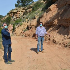 El Ayuntamiento de Alcañiz ha acondicionado los accesos al coto de pesca de 'La Badina'