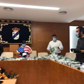 El Ayuntamiento de María de Huerva repartirá esta tarde las mascarillas elaboradas por voluntarios de la localidad