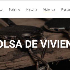 El Ayuntamiento de Used dedica un apartado de la web municipal a vivienda