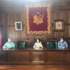 El Ayuntamiento de Teruel firma el convenio de 2020 con el Club Voleibol Teruel