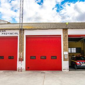 """Los vecinos de Paniza y Used """"desprotegidos y alarmados"""" por la situación de los parques de bomberos."""
