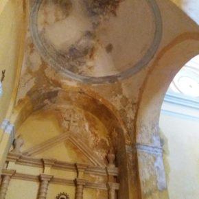 Cs pide que Samper del Salz se acoja a planes de restauración de DPZ para reparar el techo del altar de la Virgen de los Dolores