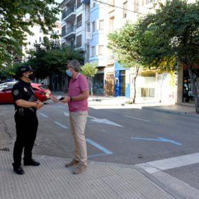 El Ayuntamiento de Alcañiz mejora seguridad y tráfico de la Avenida de Aragón