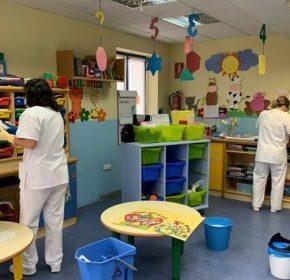 El Ayuntamiento de María de Huerva amplía el personal de la guardería municipal y refuerza el servicio de limpieza