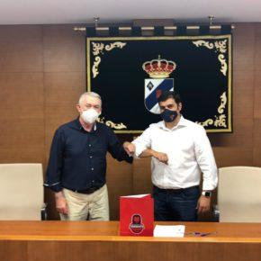El Ayuntamiento de María de Huerva y la Fundación Basket Zaragoza promoverán el deporte entre los jóvenes del municipio