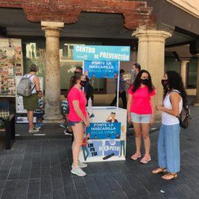 El Ayuntamiento de Teruel lanza la campaña 'Ponte la mascarilla: salva vidas'