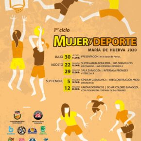 María de Huerva inicia su I Ciclo Mujer y Deporte con el partido que disputarán Súper Amara Bera Bera y BM Granollers