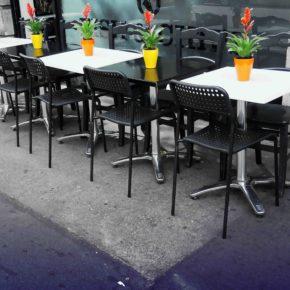 Cs Caspe pide regular la presencia de nuevas terrazas de establecimientos en las calles de la localidad