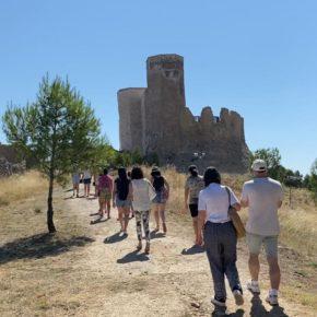 Unas 550 personas conocen la rehabilitación del Castillo Mayor con el exitoso programa de visitas guiadas