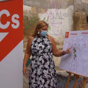Ciudadanos Huesca plantea un plan de actuación para las edificaciones, terrenos y solares en abandono o deterioro en la capital oscense