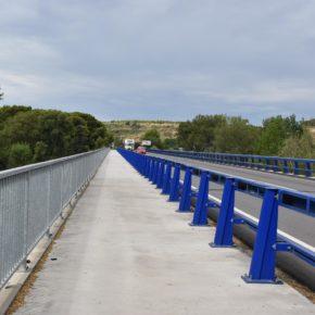 El lunes comienzan las obras de construcción de los accesos al puente de la N-240