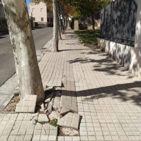 Ciudadanos Jaca plantea la elaboración de un plan específico para acondicionar aceras, viales y mobiliario urbano