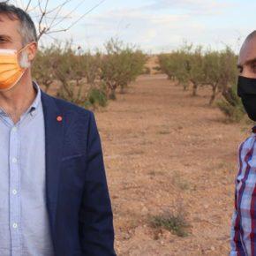 Cs Épila lamenta que Olona niegue ayuda a los agricultores que se están viendo afectados por las obras de BonÁrea