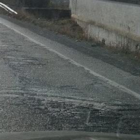 Cs Épila solicita la renovación del firme de la carretera autonómica A-122 entre Lucena y esta localidad