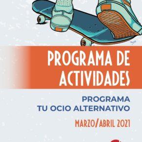 Abierto el plazo de inscripción para las actividades de 'Tu ocio alternativo' de marzo y abril