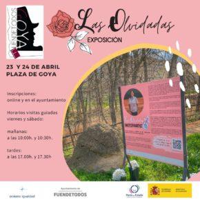 Fuendetodos reivindica la labor de científicas, escritoras y mujeres ilustres en la exposición 'Las olvidadas'