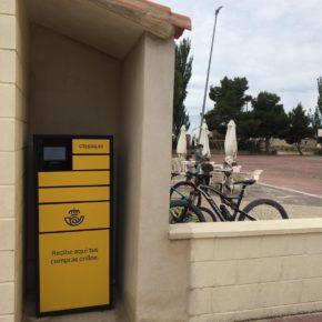 El Ayuntamiento de Farlete habilita un espacio para el envío de paquetería en el entorno de la zona deportiva
