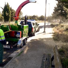 Tarazona incorpora una biotrituradora al servicio de parques y jardines