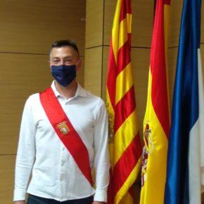 Ricardo Usar Fle toma posesión como nuevo concejal de Cs en el Ayuntamiento de Utebo