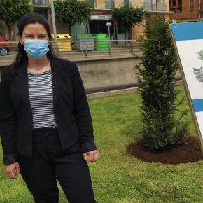Tarazona se suma a la campaña #UnÁrbolPorEuropa con la plantación de un tejo en el Día Mundial del Medio Ambiente