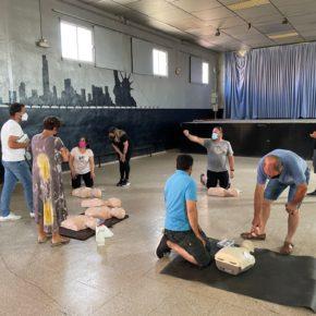 El Ayuntamiento de Tabuenca instala un desfibrilador en el consultorio médico de la localidad.