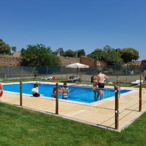 Lascellas estrena el complejo de sus piscinas tras una inversión de 150.000 euros