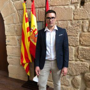 Cristian Poblador Guardia (Cs) toma posesión como presidente de  la Comarca Bajo Aragón-Caspe/Baix Aragó-Casp