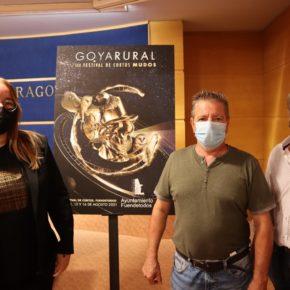 Fuendetodos celebra este puente de agosto la tercera edición de su festival de cortos mudos Goya Rural