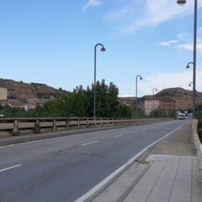 Ciudadanos Fraga reclama una intervención de urgencia ante el estado del puente grande sobre el río Cinca