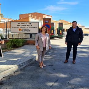 Ciudadanos y PP instan al Gobierno de Aragón a que traslade el parque de maquinaria de la Carretera de Alcañiz en Teruel